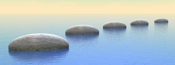 Rocks on water | Counseling Denver CO